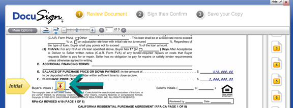 DocuSign Form